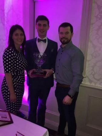 Ciaran Hoare the Roscommon Herald/Super Value Junior Sports Star Award